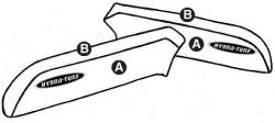 Part B - Kawasaki 750SX Sides PWC Seat Cover - Hydro-Turf
