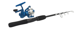 Travel Mate Spinning Combo Kit, 6'6'' - Telesc. - M - Shakespeare