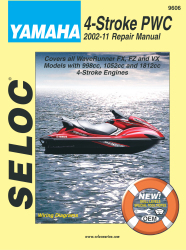 Yamaha Jet Ski PWC 2002-2011 Repair Manual - Seloc