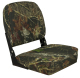 Low-Back Folding Seat, Mossy Oak Break-Up - Springfield Marine
