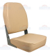 High Back Folding Seat, Tan - Springfield Marine