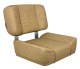 Deluxe Upholstered Boat Seat, Tan - Springfield Marine