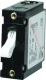 A-Series Toggle Single Pole AC/DC Circuit Breaker, 10Amp, Black Toggle - Blue Sea Systems