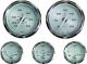 Voltmeter, 10-16 VDC, Stainless Steel - Faria