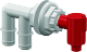 Pump-Out/Aerator Combo, Barbed - Flow-Rite