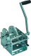 Winch, 2000 lb with Strap & Hook - Fulton