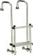 "Folding Transom Ladder, 41"" 1-3 Steps -  …"