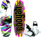 Airhead Booyah 135cm Wakeboard with Bindings