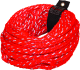 60' Bling Red Tube Tow Rope 4,100 lb 4-Person Capacity -Airhead