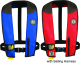 Automatic PFD with Harness, Red/Black/Carbon - Mustang Survival