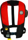 Automatic PFD with Harness, Red/Black - Mustang Survival