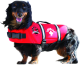 Neoprene Doggy Vest, XXS, Red, 2-6 lbs - Paws …