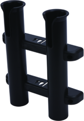 Rod Holder, 2-Rod, Black - Seadog Line