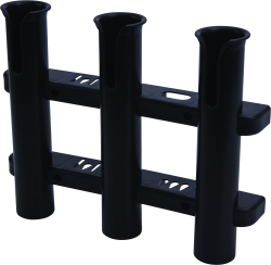 Rod Holder, 3-Rod, Black - Seadog Line