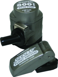 Seasense Manual Cartridge Bilge Pump 500 GPH with Switch 12v