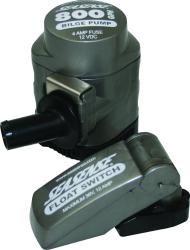 Seasense Manual Cartridge Bilge Pump 800 GPH with Switch 12v
