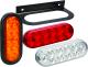 "Wesbar Waterproof LED 6"" Oval Tail Lights"