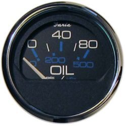 Chesapeake SS Oil Pressure, 80 PSI - Faria