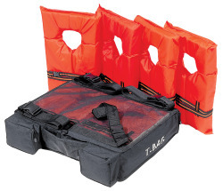 "Holds 4 Type II PFDs, 25""W x 20""D x 6""H - Airhead"