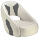 Avenir Sport Bucket Seat, Off-White & Charcoal - Attwood