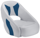 Avenir Sport Bucket Seat, Smoke & Blue - Attwood