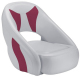 Avenir Sport Bucket Seat, Smoke & Burgundy - Attwood