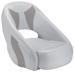 Avenir Sport Bucket Seat, Smoke & Gray - Attwood