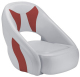 Avenir Sport Bucket Seat, Smoke & Red - Attwood