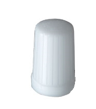 "Globe for All Round Stern Light, Translucent, White 3"" x 1 1/2"" - Seachoice"