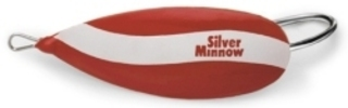 Johnson Silver Minnow Color: Red & White - Johnson Fishing