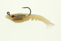 """Berkley Powerbait Saltwater 3 1/2"""" Rattle Shrimp - Color: Natural"""