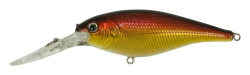 Berkley Floating Flicker Shad - Color: Black Gold Sunset