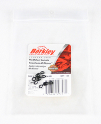 Berkley Mcmahon Swivels - Size: 1, Lb. Test: 150, Color: Black, Qty: 144