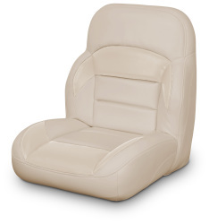 Low Back Non-Reclining Helm Seat, Tan - Lexington Seats