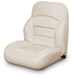 Low Back Reclining Helm Seat, Tan - Lexington Seats