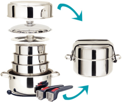 COOKWARE 10 PC. S/S - Magma