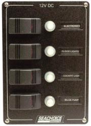 marine ac distribution circuit breaker panels. Black Bedroom Furniture Sets. Home Design Ideas