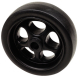 8 BLK POLY SPARE JACK WHEEL - Seachoice
