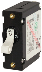 CIRCUIT BREAKER AA1 25 AMP WHT - Blue Sea Systems