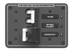 120V AC PANEL SOURCE SELECTOR - Blue Sea Systems