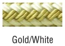 FEND LN GOLD/WHITE-BRD-1/4INX6 - Seachoice