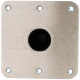 "7 X 7 Square 1.77"" Snap Lock Post Base Plate - Swivl-Eze"
