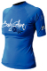 Womens Xs Basic Short Sleeve Shirt, Blue - Body Glove