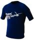Mens Xs Basic Short Sleeve Shirt, Navy - Body Glove