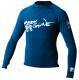 Juniors Basic Long Sleeve Shirt, Royal Blue,  …