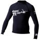 Basic Mens X-Small Long Sleeve Shirt, Black - …
