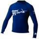 Mens Xs Basic Long Sleeve Shirt, Navy - Body Glove