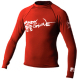 Mens Xs Basic Long Sleeve Shirt, Red - Body Glove