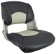 Injection Molded Fold Down Seats With Cushions (Springfield Marine)