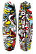 Airhead Inside-Out 141cm Wakeboard with Clutch Bindings